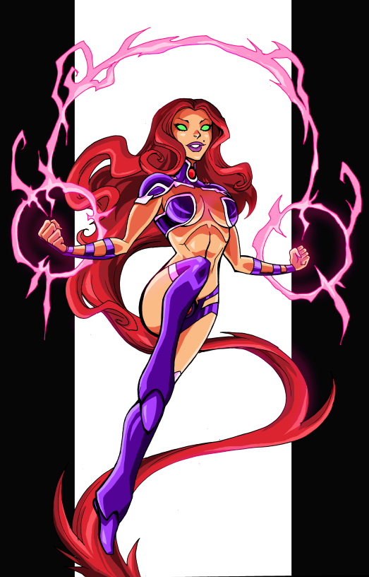 Starfire by LucianoVecchio