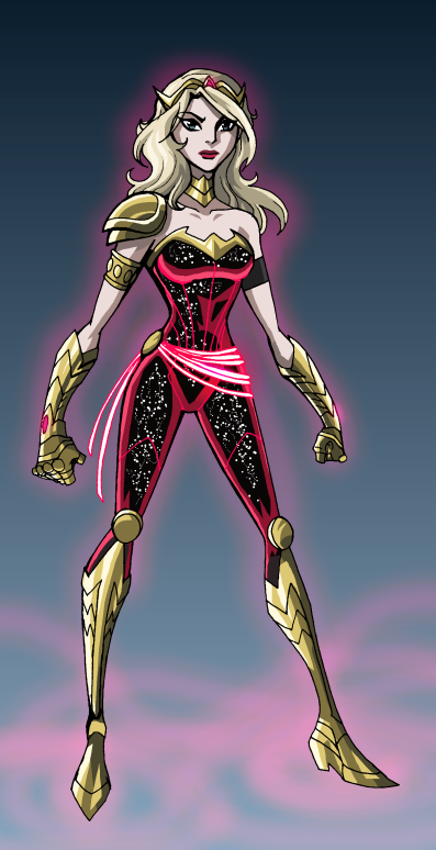 Wonder Girl Redesign by LucianoVecchio