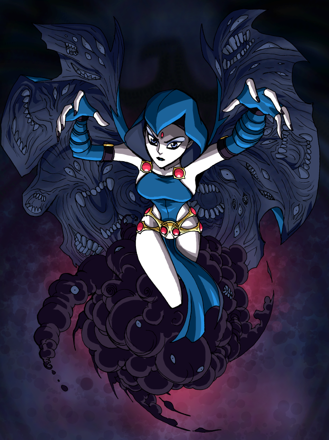 Raven - Ame-Comi style by LucianoVecchio