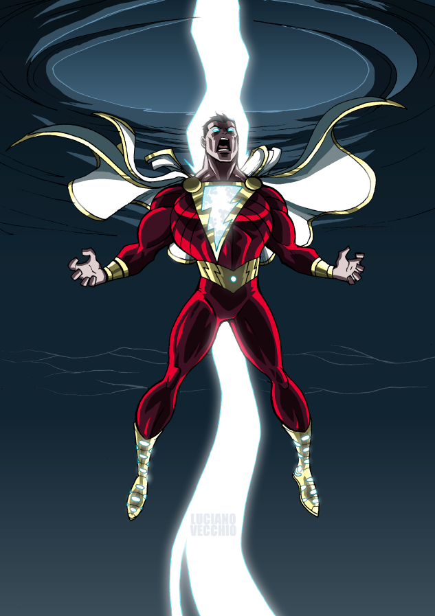 SHAZAM By LucianoVecchio On DeviantArt