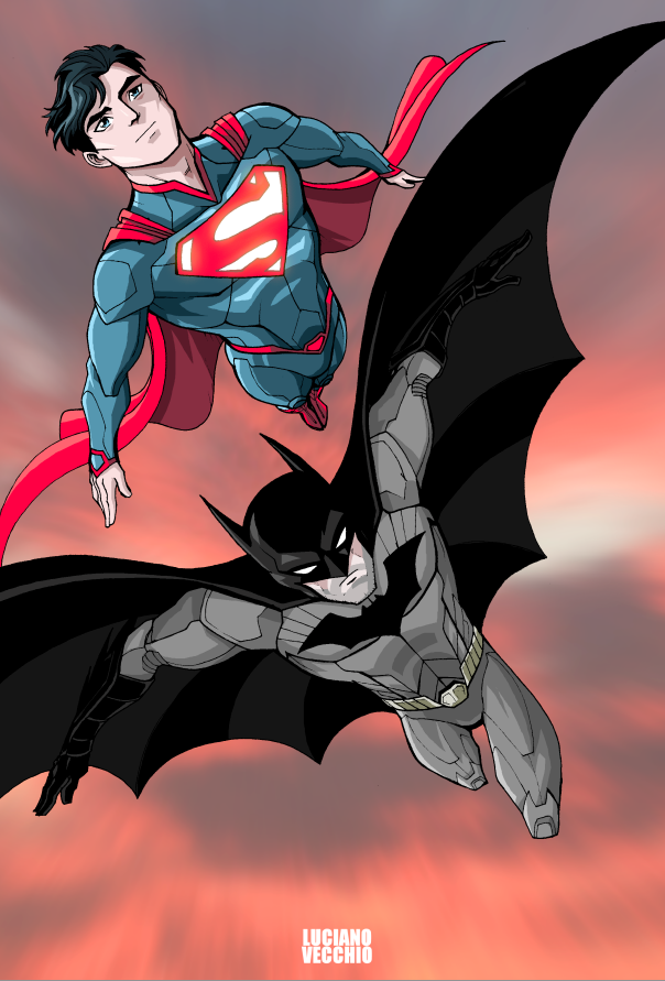 World's Finest by LucianoVecchio