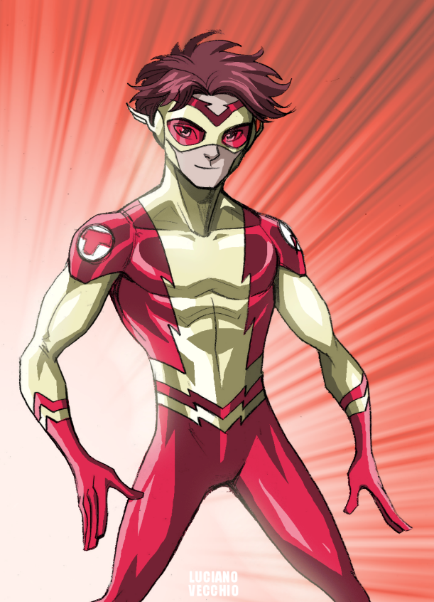 """""""Le Microvers attaque !"""" [Patty Spivot] - Page 3 Kid_flash___bart_allen_by_lucianovecchio-d6kmgpo"""