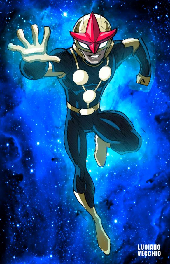 Ultimate nova by lucianovecchio on deviantart - Nova ultimate spider man ...