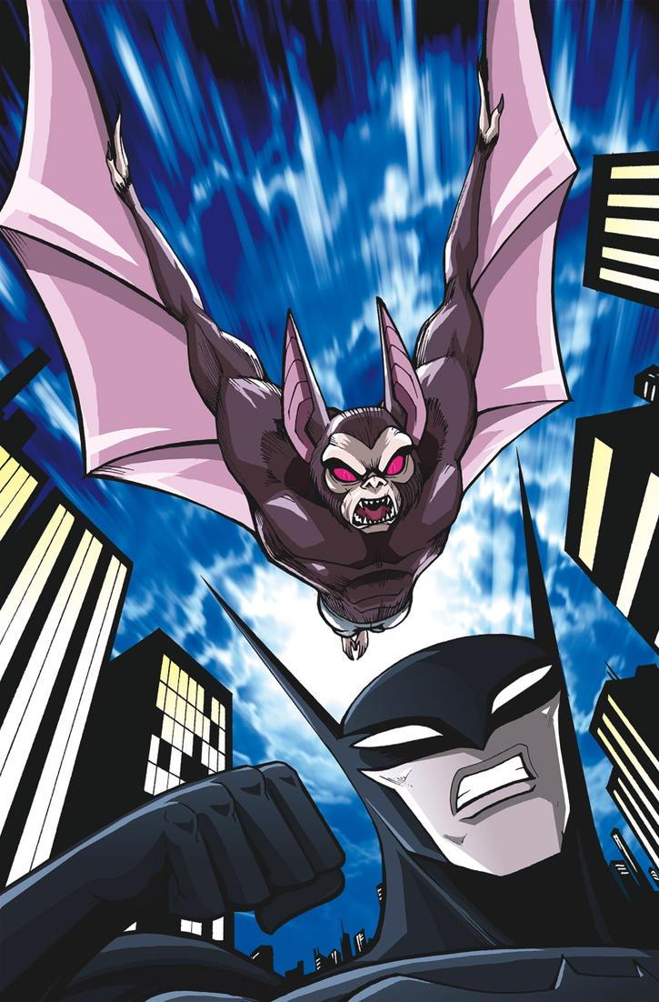 Beware The Batman #4 Cover by LucianoVecchio