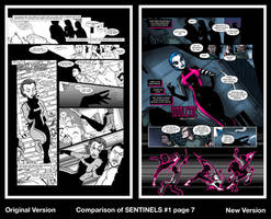 Sentinels Revision - Issue 1 page 7 by LucianoVecchio