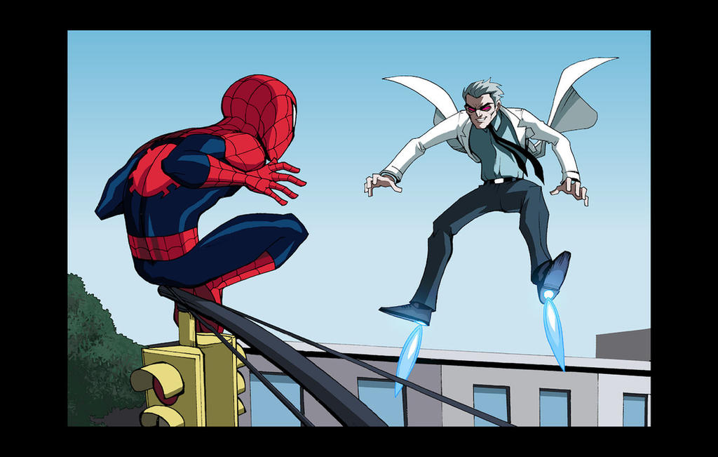 Marvel Infinite Comics: Ultimate Spider-Man 5 by LucianoVecchio