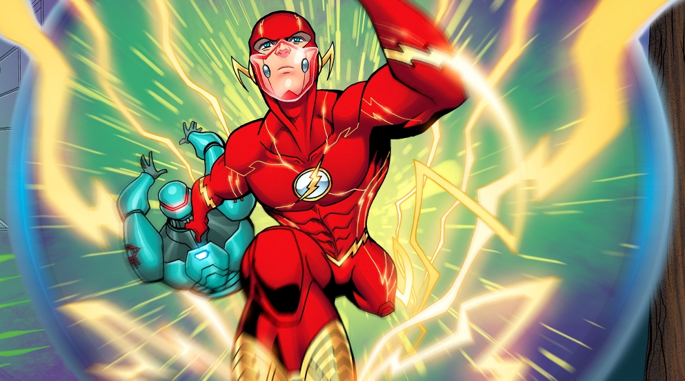 FLASH! by LucianoVecchio