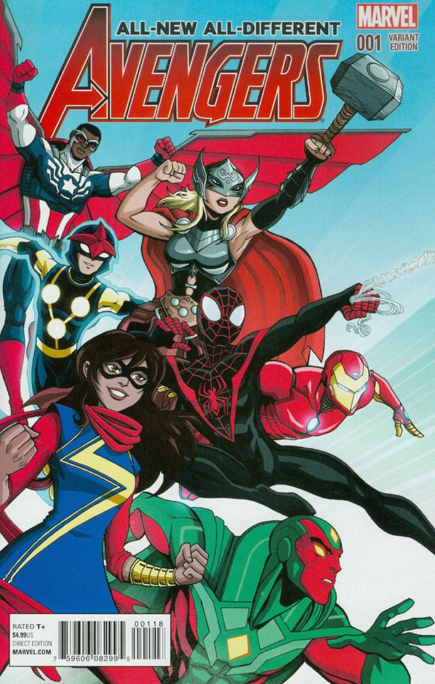 All-New All-Different Avengers 1 by LucianoVecchio