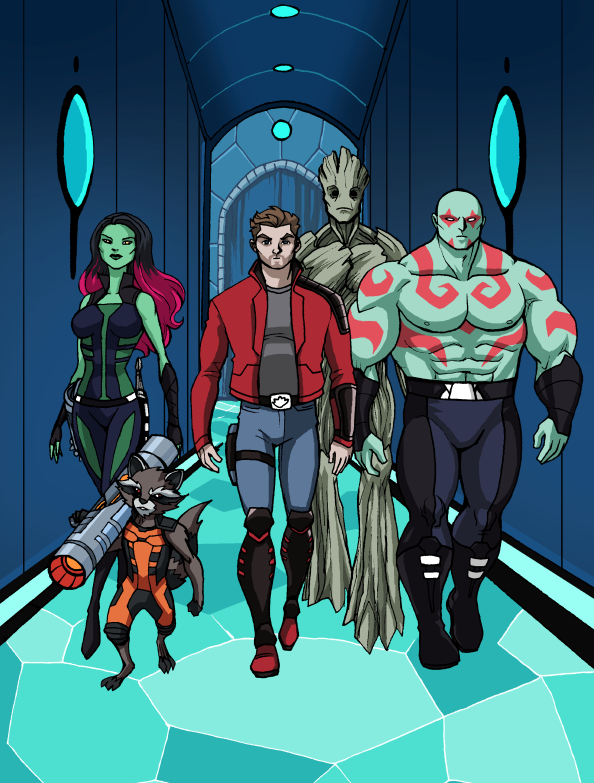 Guardians Of The Galaxy by LucianoVecchio