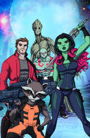 Guardians Of The Galaxy Infinite Comics by LucianoVecchio
