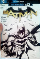 Batman Blank Cover by LucianoVecchio