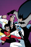 Batman and Robin: Two-Face Face-Off Cover