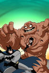 Batman and Robin: Clayface Cover
