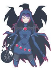 Raven Rebirth by LucianoVecchio