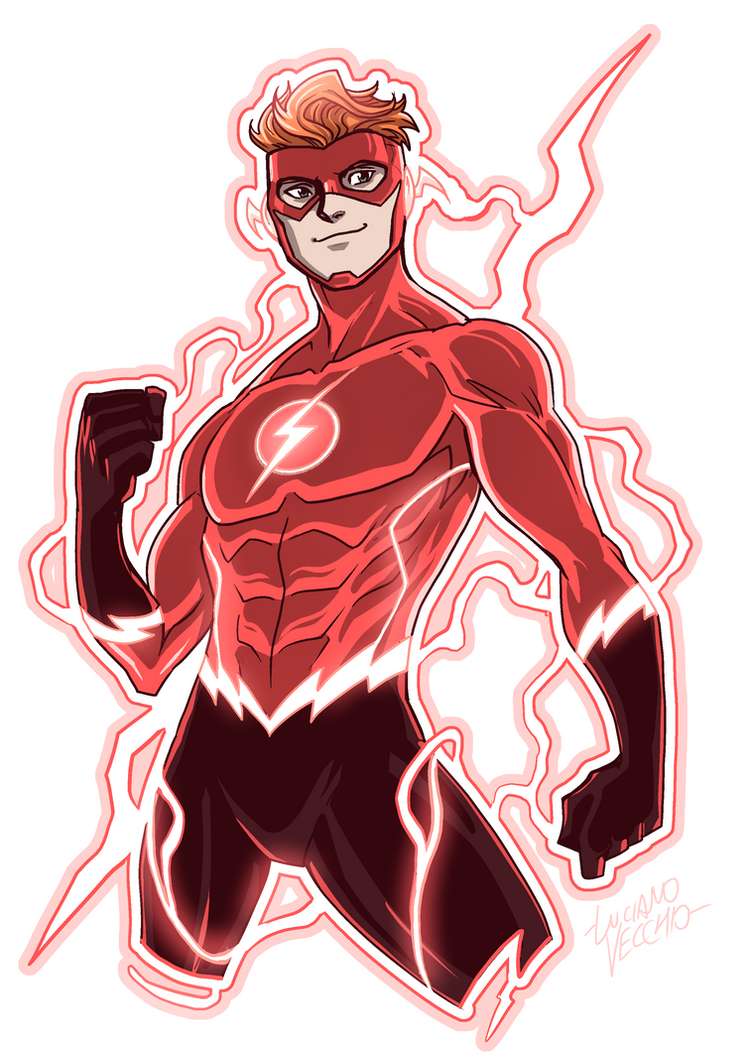 Flash (Wally West) Rebirth by LucianoVecchio on DeviantArt
