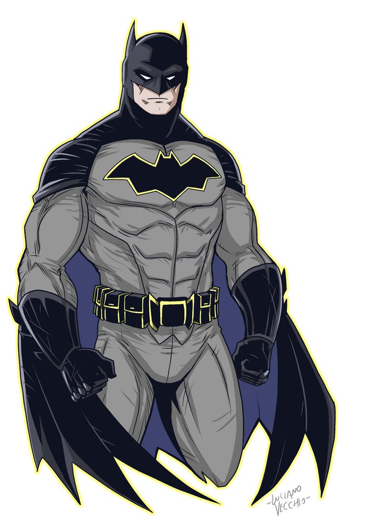 Batman Rebirth By Lucianovecchio On Deviantart