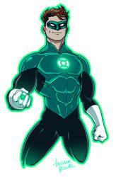 Green Lantern Hal Jordan Rebirth by LucianoVecchio
