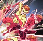 Titans: Kid Flash vs Flash