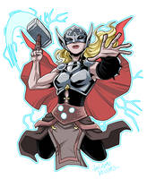 Mighty Thor by LucianoVecchio