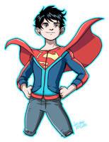 Superboy Rebirth by LucianoVecchio