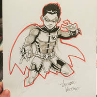 Robin Commission by LucianoVecchio