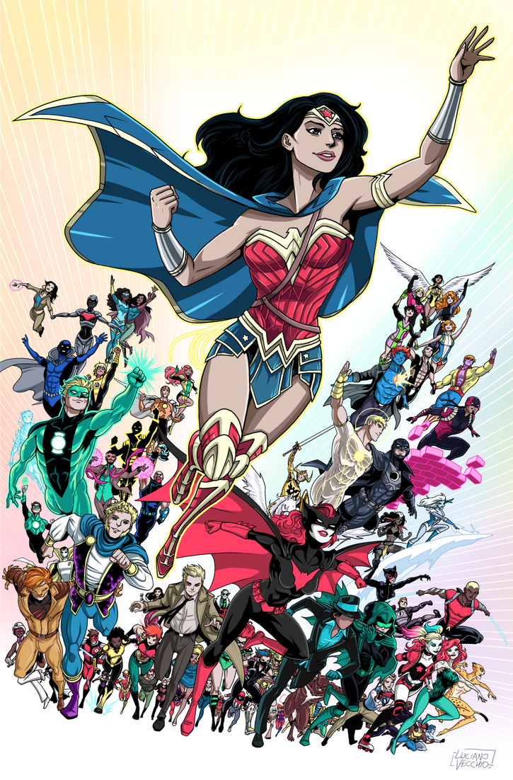 I Love Dc Comics : Love is in the dcu by lucianovecchio on deviantart