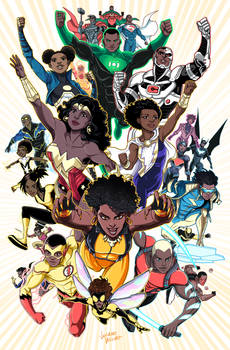 Black Superheroes of the DCU