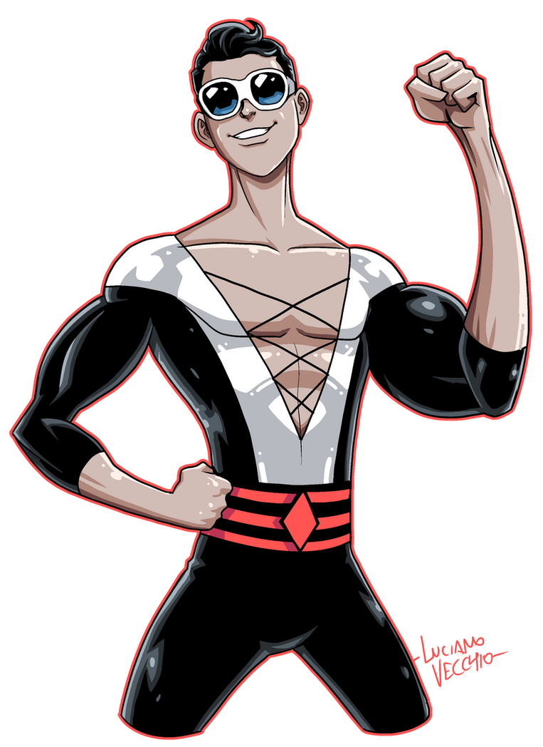 terrific plastic man by lucianovecchio on deviantart