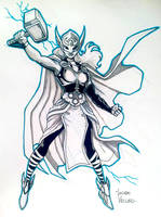 Jane Foster Thor NYCC Commission