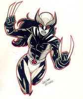 All New Wolverine NYCC Commission by LucianoVecchio