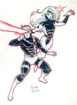 Cyclops and Jean Grey NYCC Commission