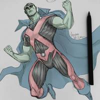 Martian Manhunter sketch by LucianoVecchio