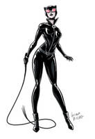 Catwoman by LucianoVecchio