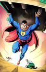 Action Comics 1000 faux Variant Cover