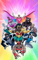 The Pride 7 Cover by LucianoVecchio