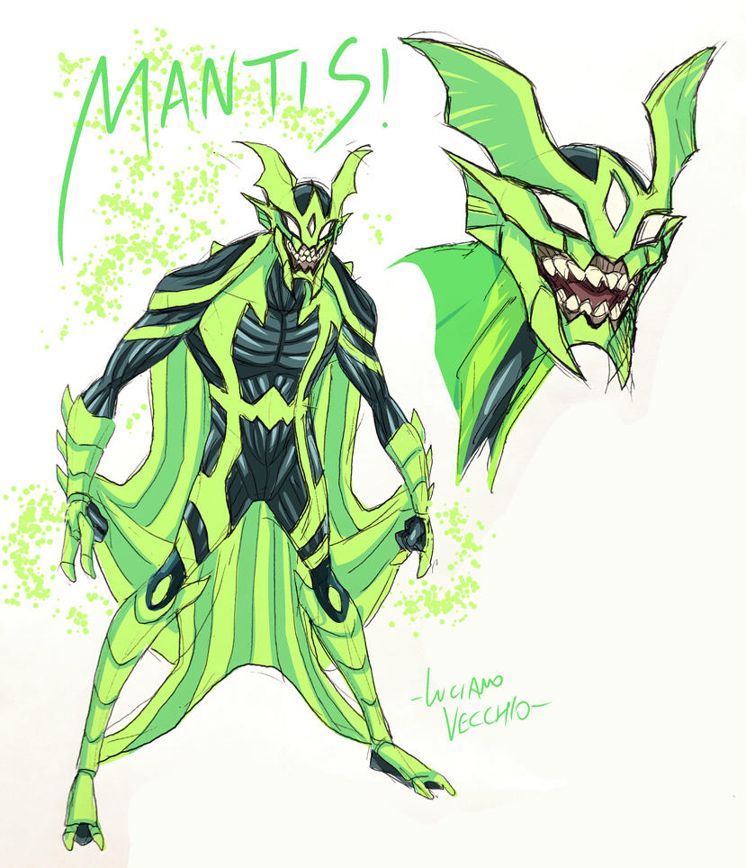 [Reign of Darkseid] L'annihilation du Kahndaq [LIBRE] Young_mantis_sketch_by_lucianovecchio-dcakuho