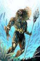 Aquaman Honolulu Comic Con Exclusive by LucianoVecchio