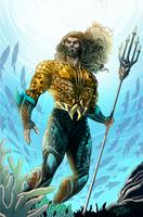 Aquaman Honolulu Comic Con Exclusive Alt Palette by LucianoVecchio