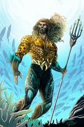 Aquaman Honolulu Comic Con Exclusive Alt Palette by LucianoVecchio