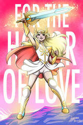 SheRa For the Honor of Love by LucianoVecchio