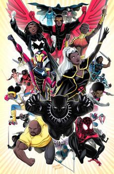 Black Superheroes of the Marvel Universe