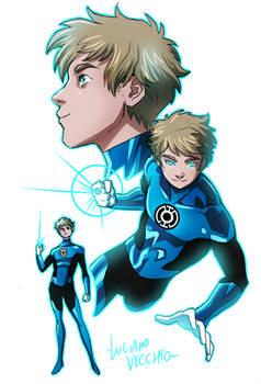 Blue Lantern Terry Berg