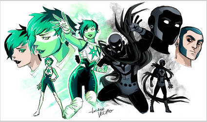 Jade and Obsidian