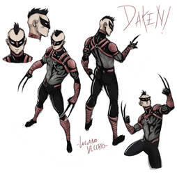 Daken Redesign by LucianoVecchio