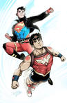 SUPERBOY and WONDER BOY