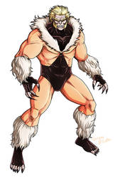First Appearance SABRETOOTH by LucianoVecchio