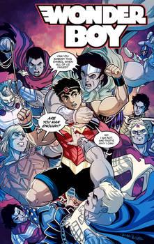 Wonder Boy vs the Wonder Men