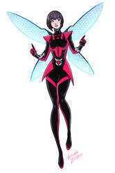 Unstoppable Wasp study 2 by LucianoVecchio