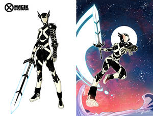 Magik in Space Redesign