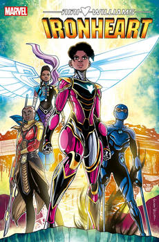 Ironheart 12 Cover